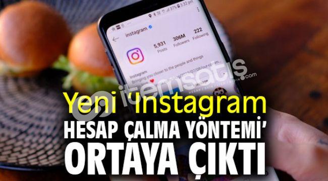 Instagram Hesap Çalma Method