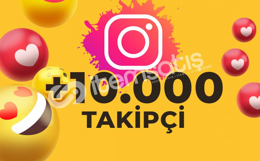 10.000 KARIŞIK TAKİPÇİ GÖNDERİMİ (ANLIK)