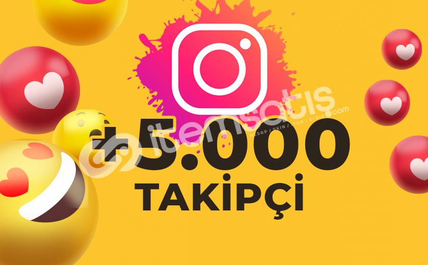 5.000 KARIŞIK TAKİPÇİ GÖNDERİMİ (ANLIK)