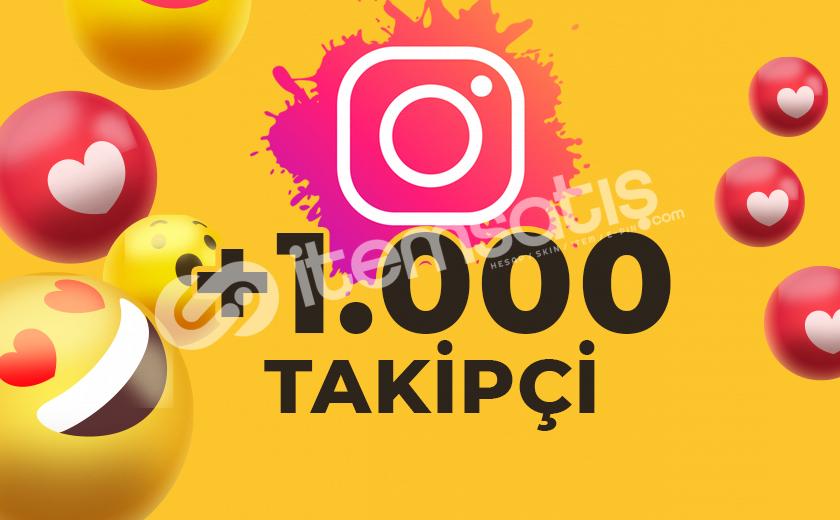 1.000 KARIŞIK TAKİPÇİ GÖNDERİMİ (ANLIK)