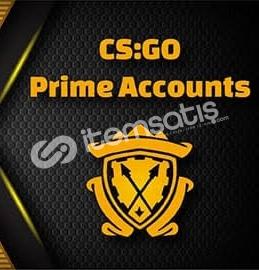 CS-GO prime + Envanter Otomatik Teslim