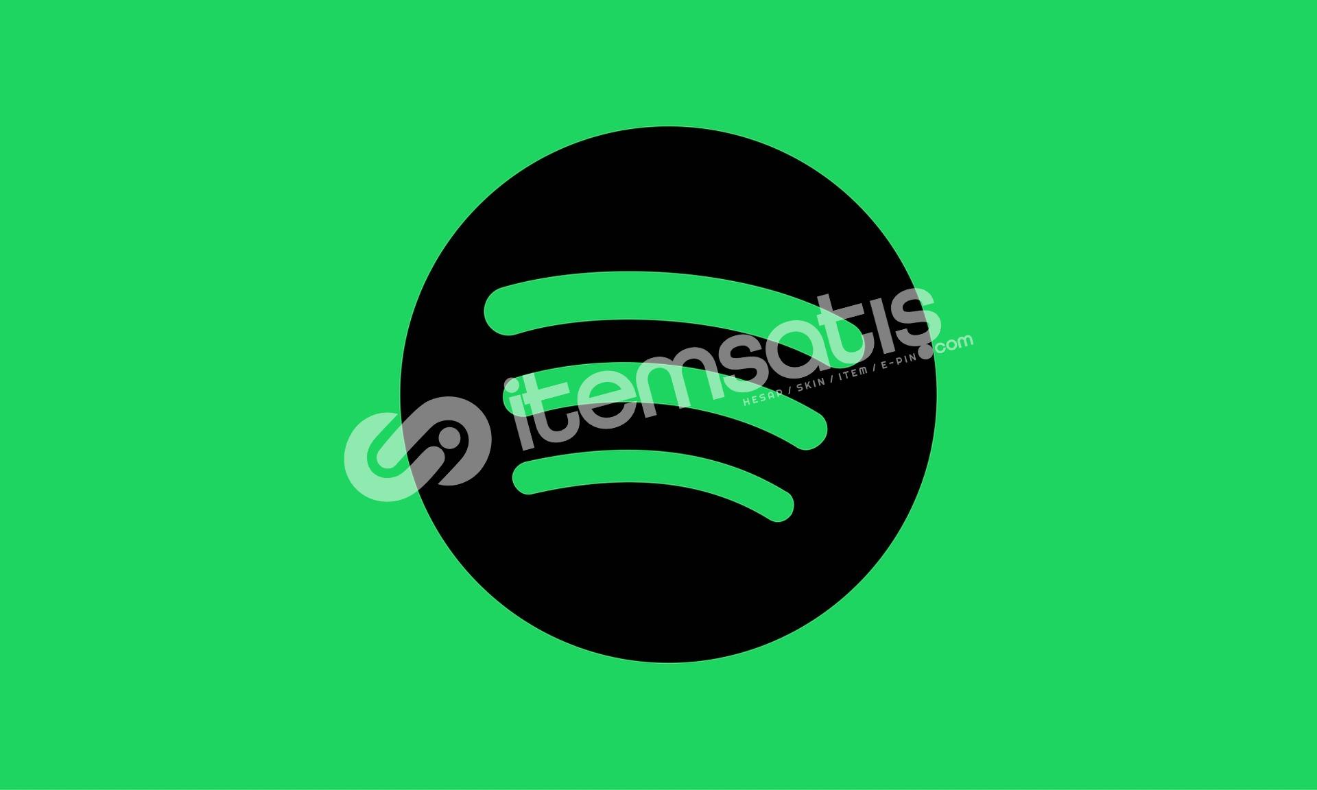 Spotify 1 Aylık Premium Hesap (Kişiye Özel!)