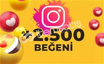 2.500 KARIŞIK BEĞENİ (ANLIK)