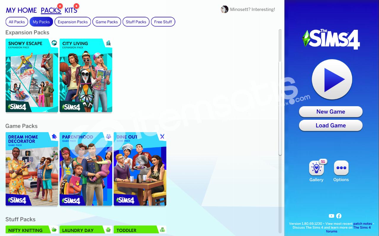 Sims 4 Paketli Origin Hesabı