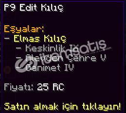 P9 EDİT KILIÇ (CraftRise Network)