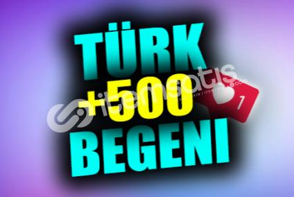 500 Gerçek Türk Beğeni | ANLIK | KEŞFET ETKİLİ