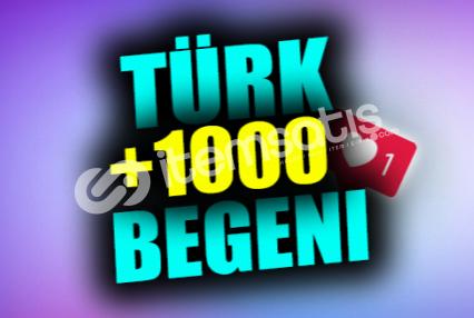 1000 Gerçek Türk Beğeni | ANLIK | KEŞFET ETKİLİ