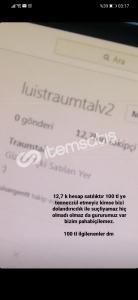 12.7k instagram hesabı 260tl