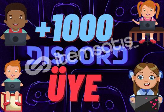 1.000 Online Üye