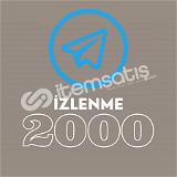2000 Telegram Post Görüntülenme Son 1 post