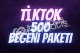TikTok Global Beğeni | 500 Adet |