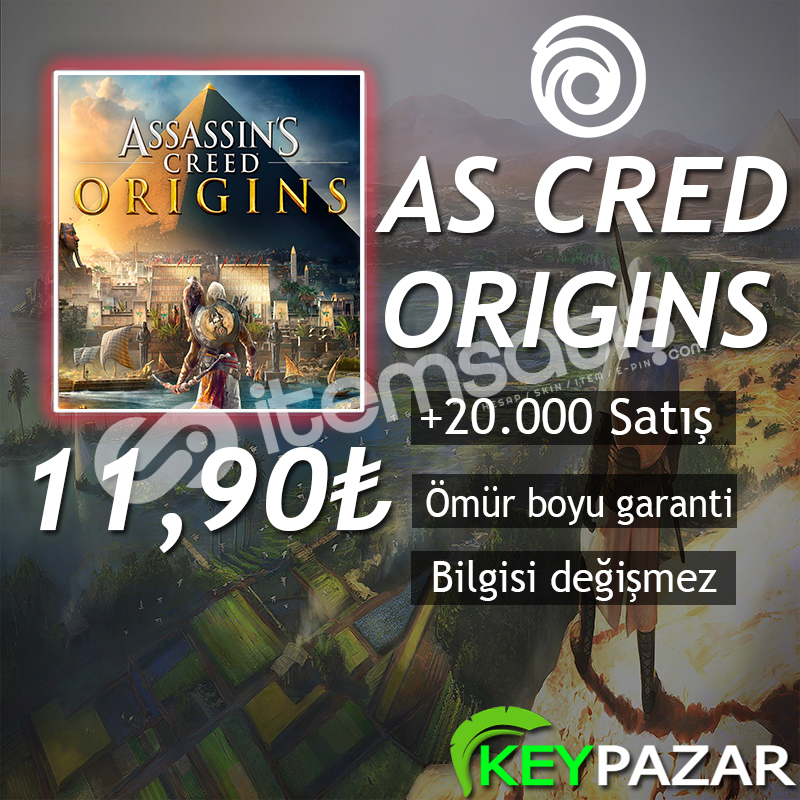 AS CRED ORİGİNS ÖMÜR BOYU GARANTİ + HEDİYELİ! U