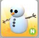 Neon Snowman