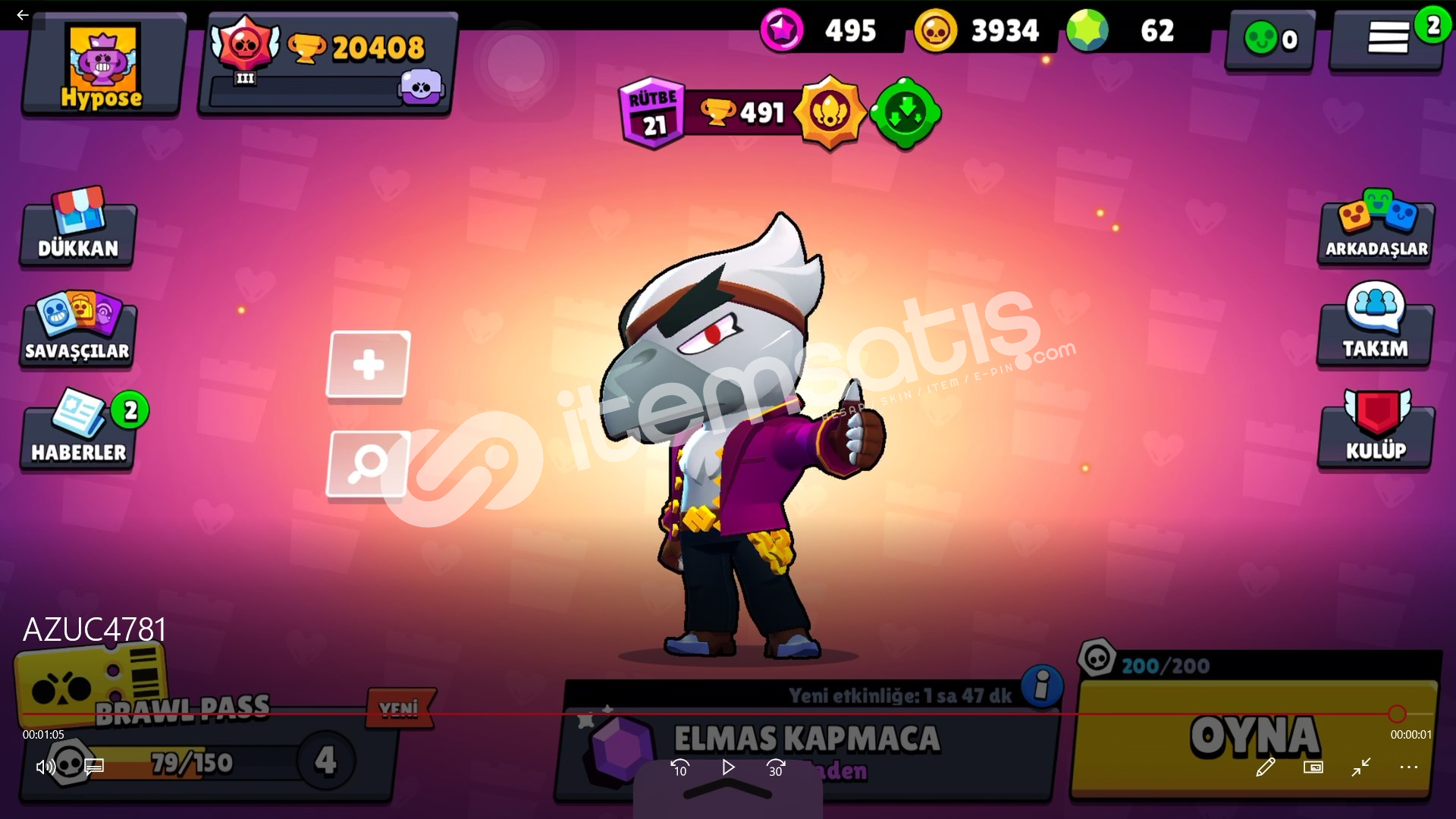brawl stars 20,500 kupa