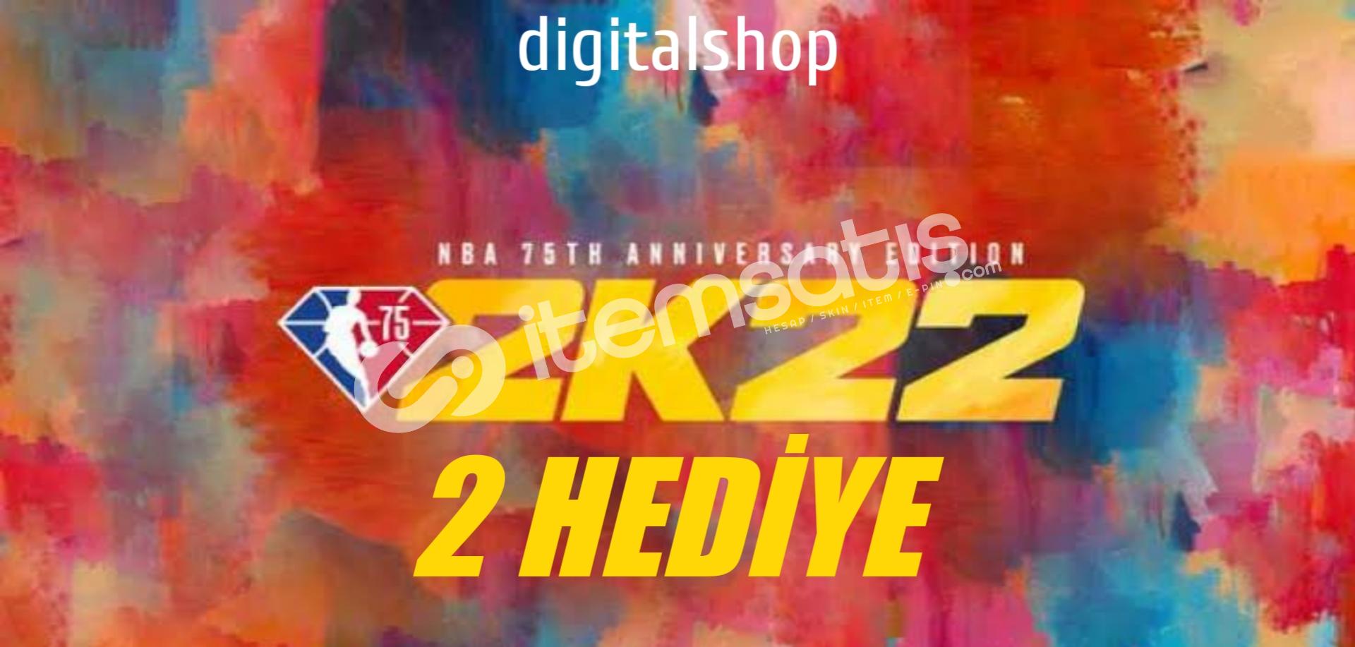 XBOX// NBA 2K22 75TH EDİTİON + 2 HEDİYE