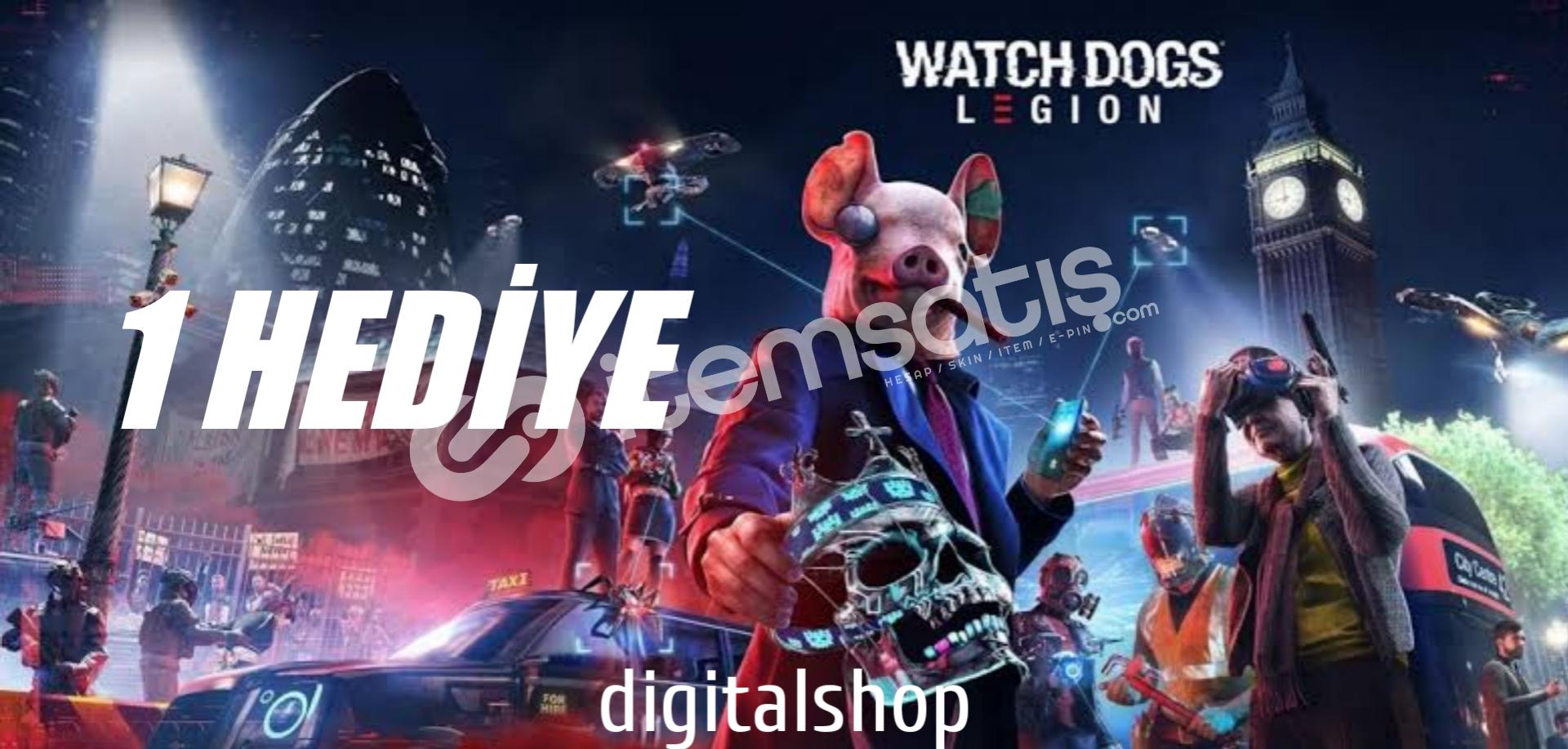XBOX// WATCH DOGS LEGİON ULTİMATE + 1 HEDIYE