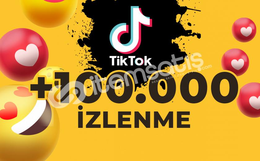 TİKTOK 100.000 İZLENME EN HIZLI EN KALİTELİ
