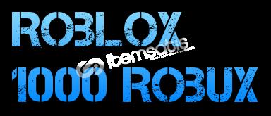 1000 ROBUX STOK: 20k robux