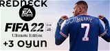 XBOX   FIFA 22 Ultimate Edition +3 Oyun+Garanti