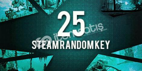 25 ADET STEAM RANDOM KEY (2 - 200 TL) OYUN