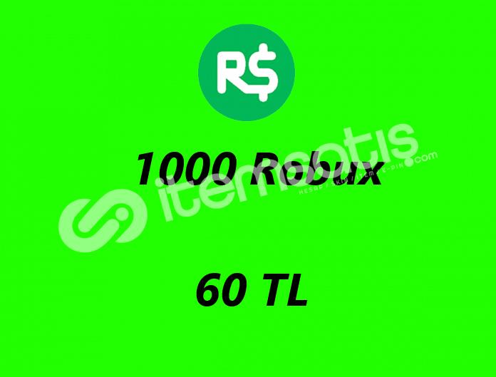 Robux Ucuz Satış 1000 Robux