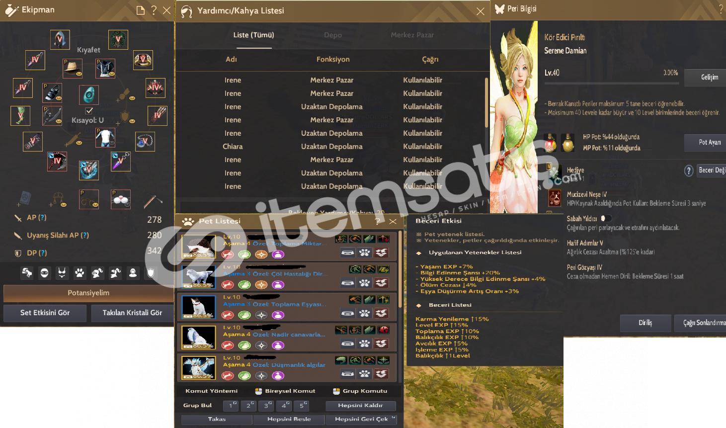 62 level 622 GS BERSERKER ( Steam hesabı )