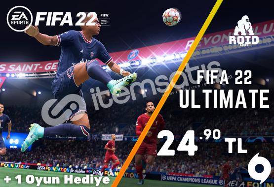 FIFA 22 Origin Hesabı | Garanti + Hediye