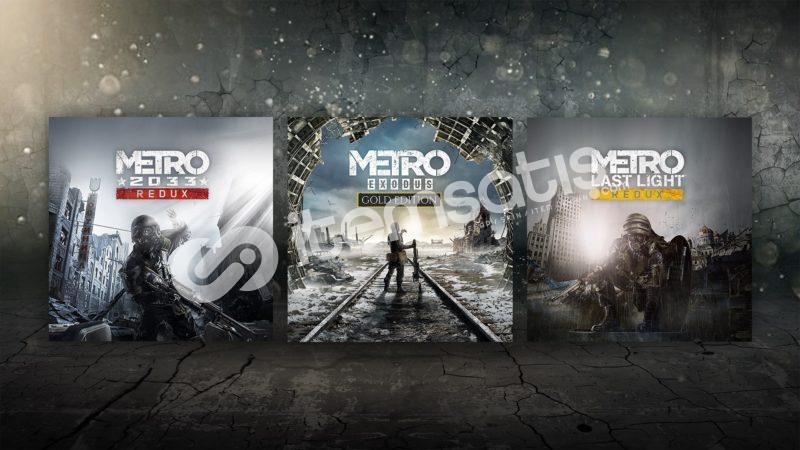 Metro serisi (4 oyun) + Garanti