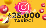 25.000 KARIŞIK TAKİPÇİ GÖNDERİMİ (ANLIK)