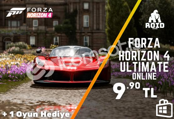 FORZA HORIZON 4 ULTIMATE Microsoft Hesabı