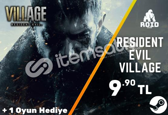 RESIDENT EVIL VILLAGE Steam Hesabı