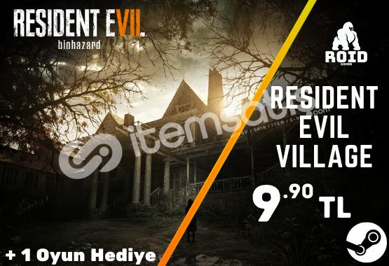 RESIDENT EVIL 7 Steam Hesabı
