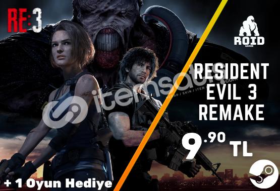 RESIDENT EVIL 3 REMAKE Steam Hesabı