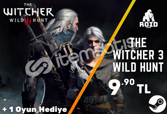 THE WITCHER 3 WILD HUNT Steam Hesabı