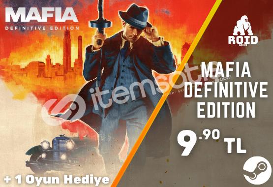 MAFIA DEFINITIVE EDITION Steam Hesabı