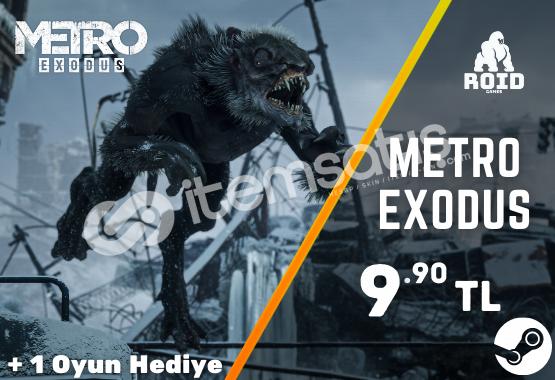 METRO EXODUS Steam Hesabı