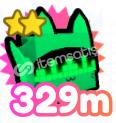 Pet Simulator X Rainbow Techno Cat 329 Milyon