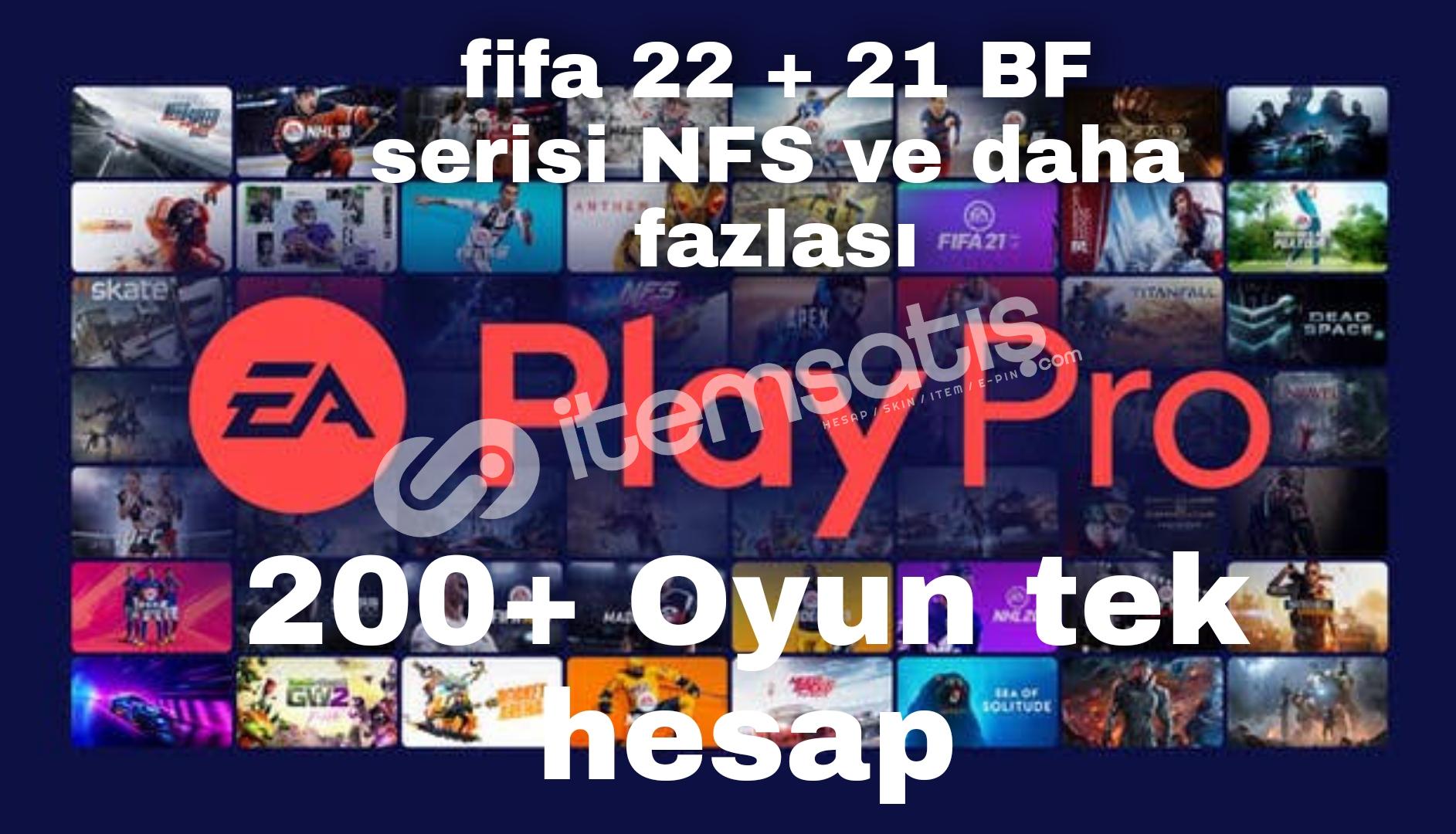 Ea play pro   FİFA 22 + steam + uplay Hediye