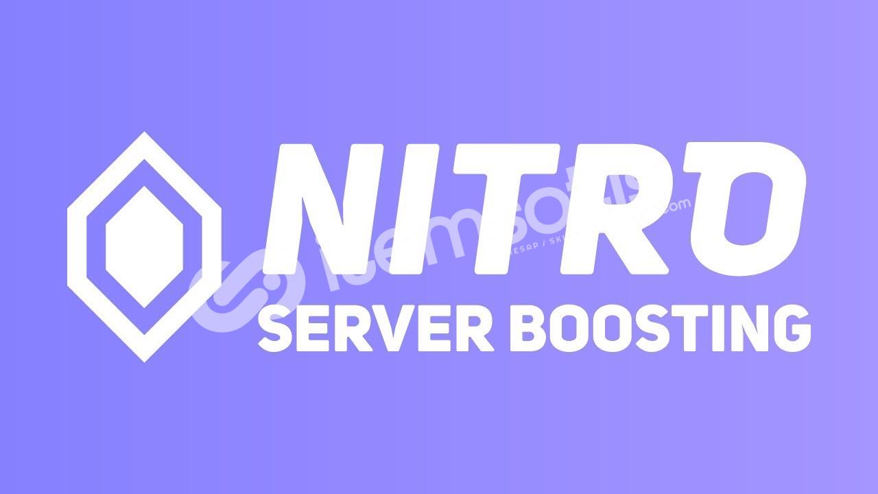 Discord x2 Takviye (Server Boost)