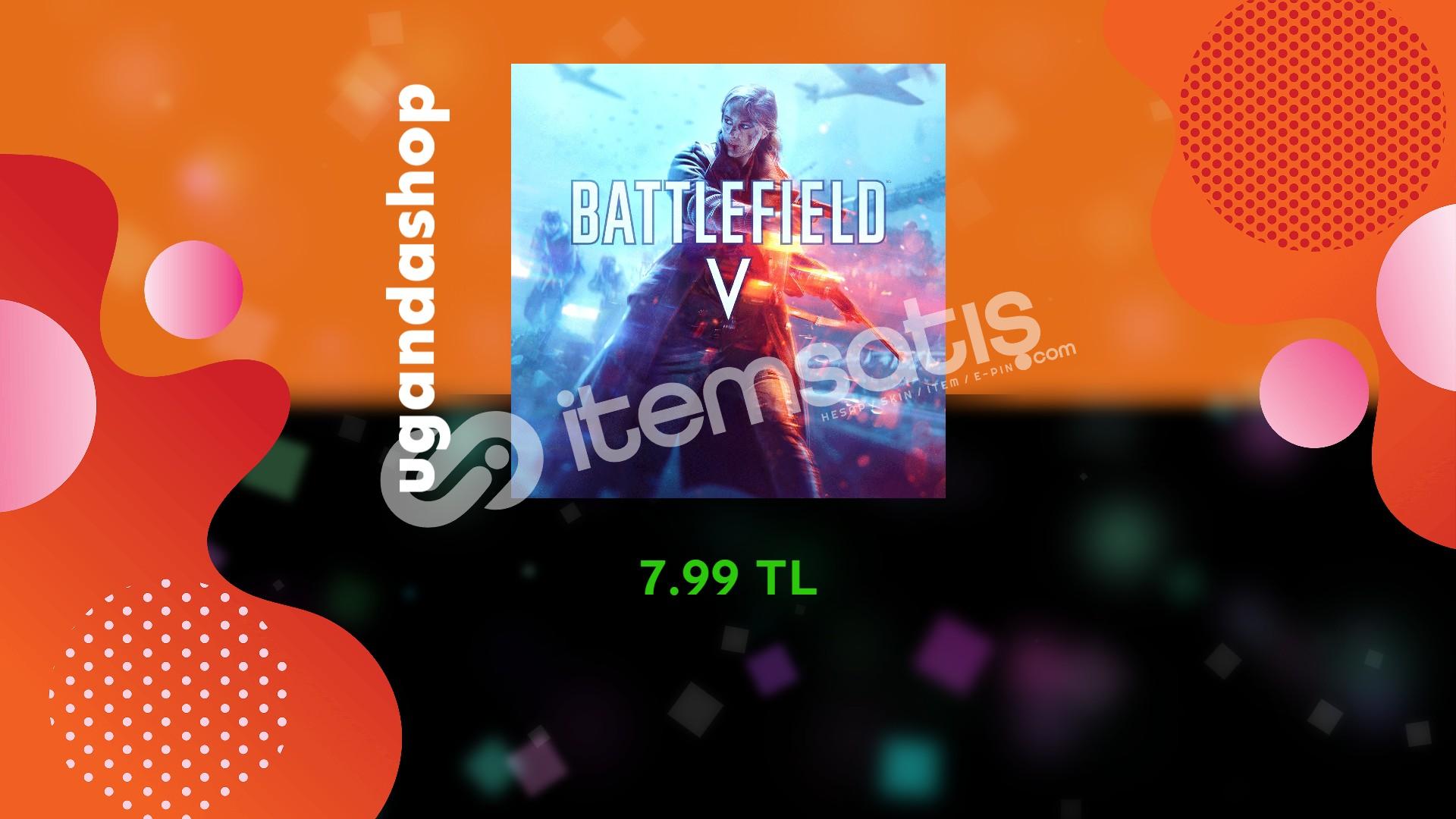 Battlefield 5 Online Origin Hesap + Garanti