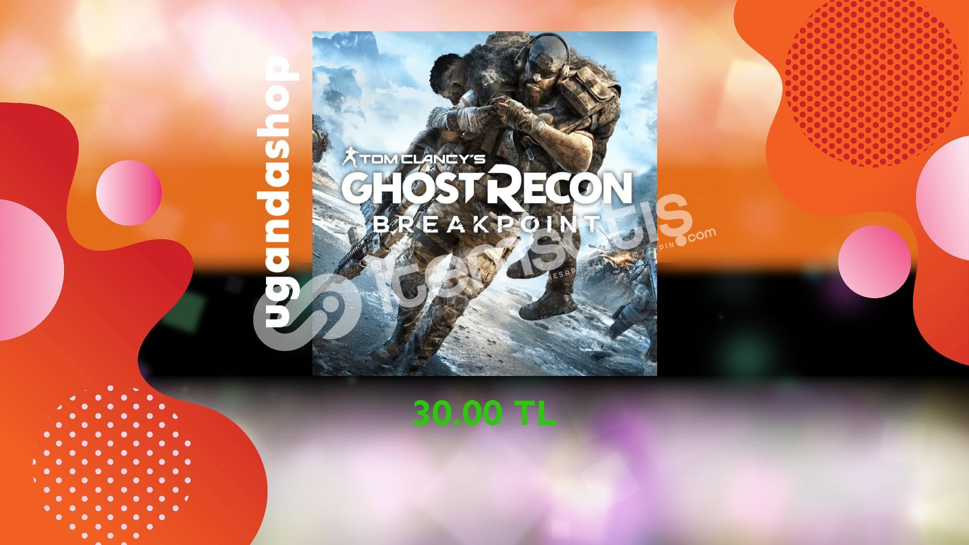 Ghost Recon Breakpoint Online Uplay/Ubisoft Hesap + Garanti