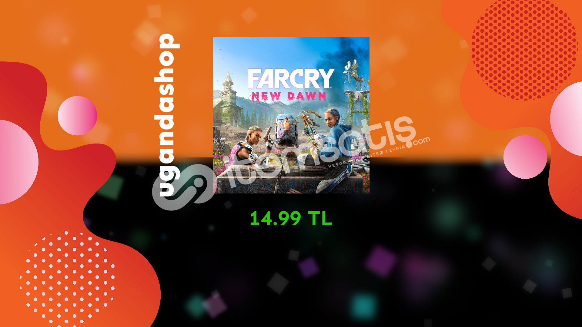 Far Cry New Dawn Online Uplay/Ubisoft Hesap + Garanti