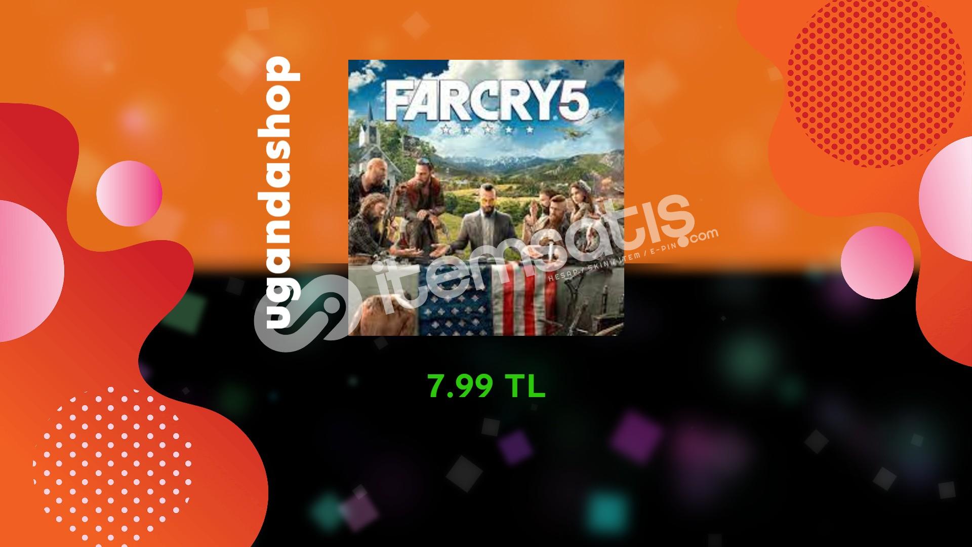 Far Cry 5 Online Uplay/Ubisoft Hesap + Garanti