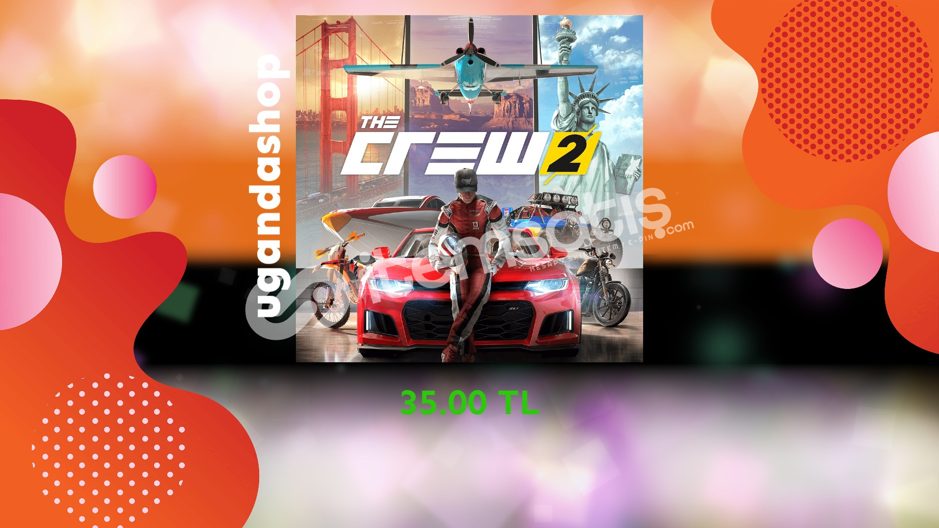 The Crew 2 Online Uplay/Ubisoft Hesap