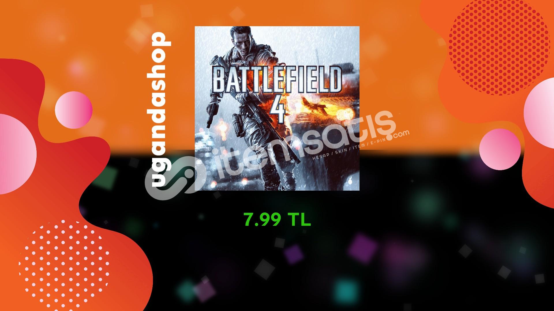 Battlefield 4 Online Origin Hesap