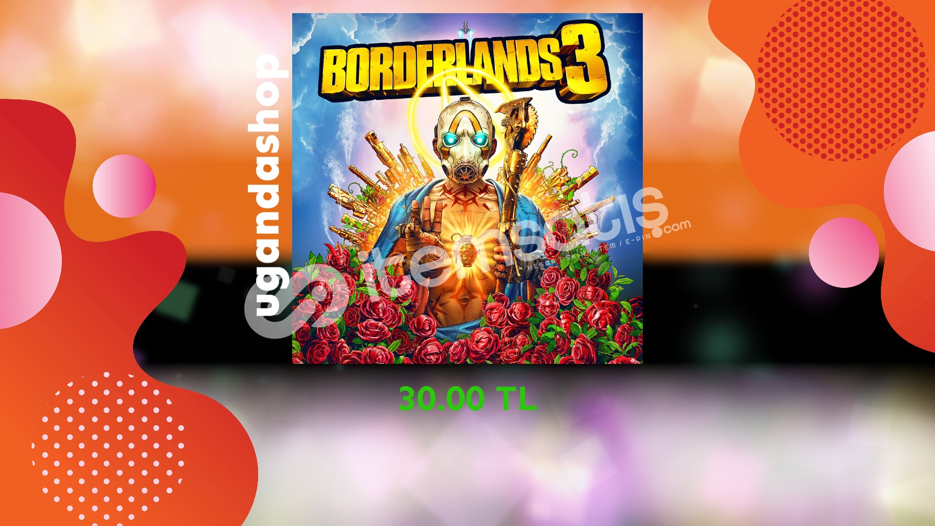 Borderlands 3 Online Epic Games Hesap + Garanti