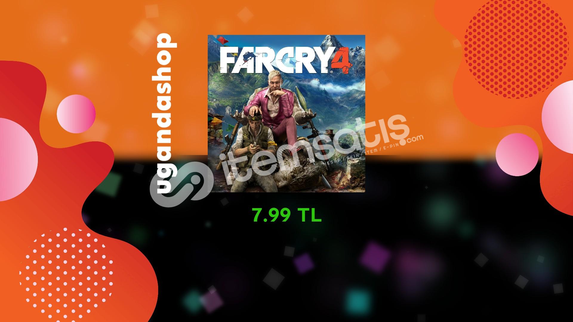 Far Cry 4 Online Uplay/Ubisoft Hesap + Garanti