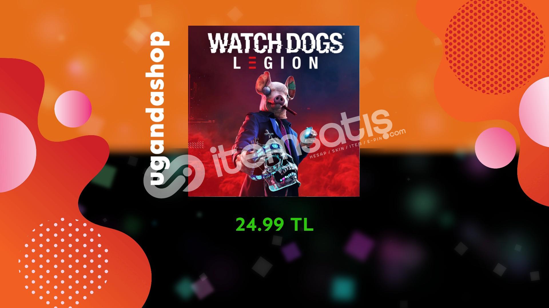 Watch Dogs Legion Online Uplay/Ubisoft Hesap + Garanti