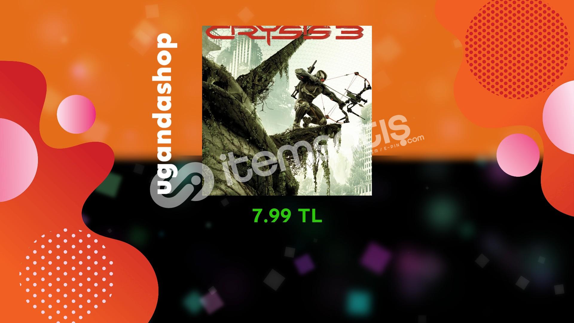 Crysis 3 Online Origin Hesap + Garanti