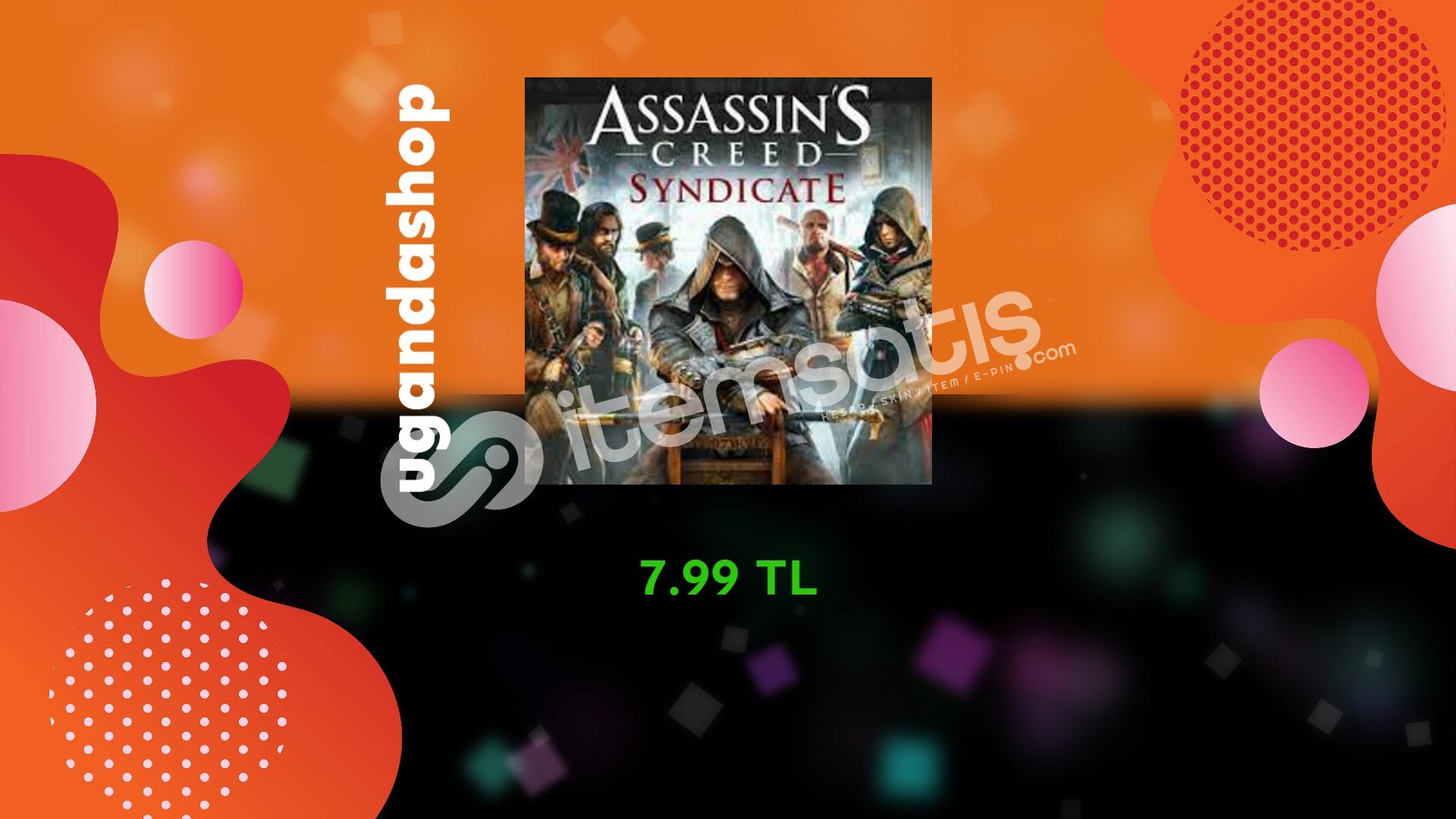 Assassin's Creed Syndicate Uplay/Ubisoft Hesap + Garanti
